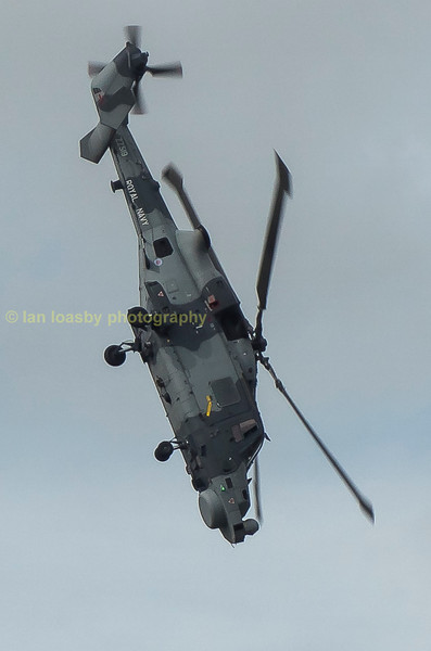 These helicopter are also fighting machines as proven by this near vertical dive