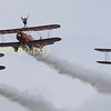 Those Breitling wing walkers again in the venerable Boeing Stermans
