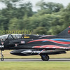 Panning shot of what must have been the most eye catching livery at Riat 2016