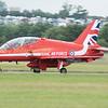 Hawk XX325 of the Red Arrows