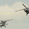 The Black Cats, the Royal Navy's helicopter display team with their Lynx  helicopters from RNAS Yeovilton