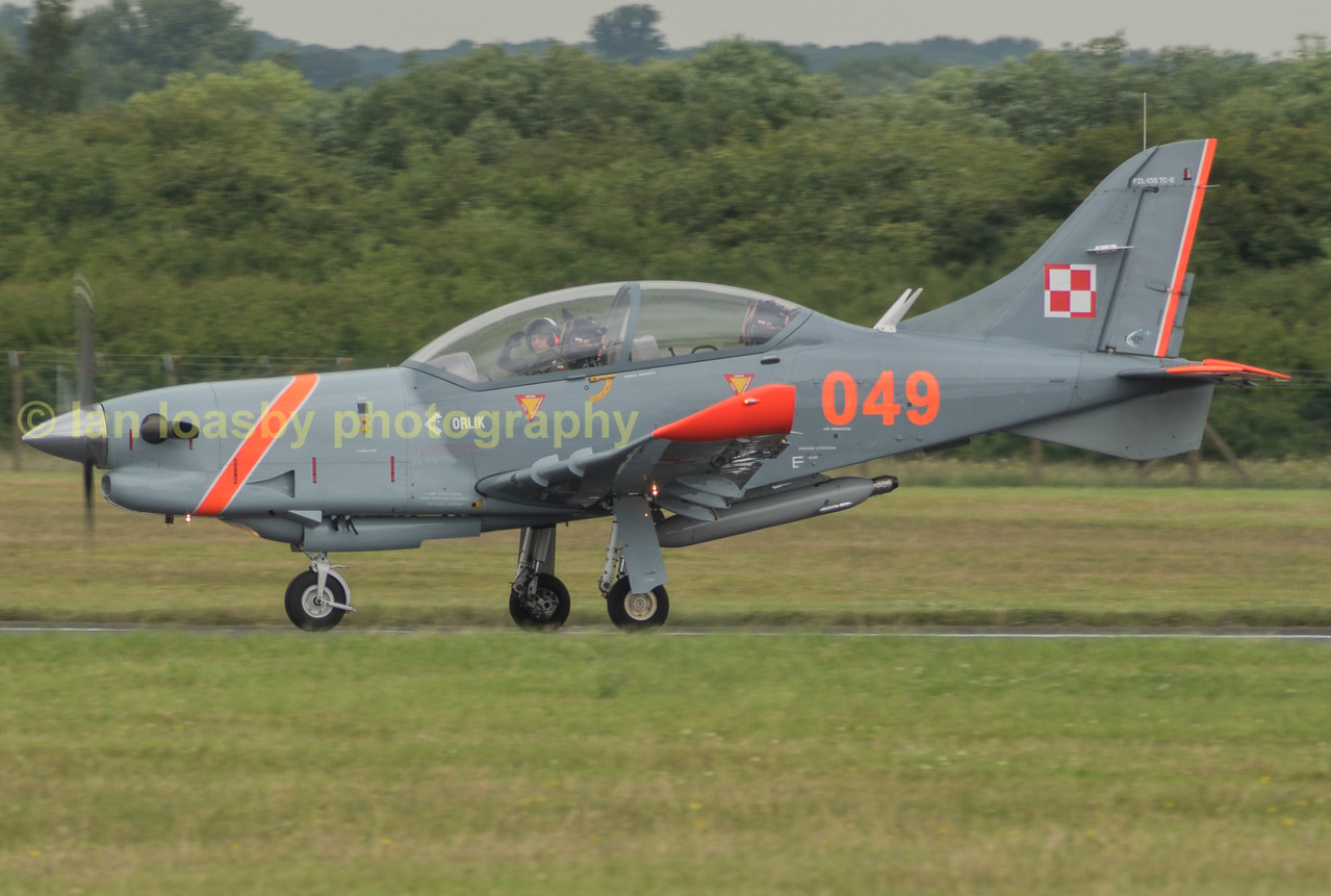 The Polish aerobatic team the Orliks fly these PZL -130TC-II's