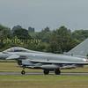 RAF Typhoon  FGR 4 from No 29 (R) Sqn RAF Coningsby Lincs.