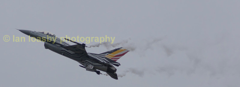 F16a of the Belgian Air Force