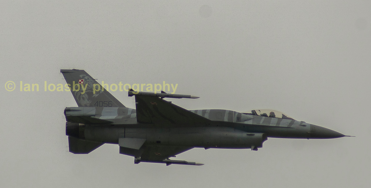 F16c of  the Polish airforce