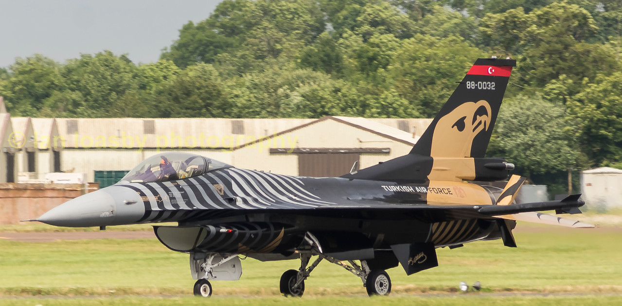 F16-C of the Turkish Air force