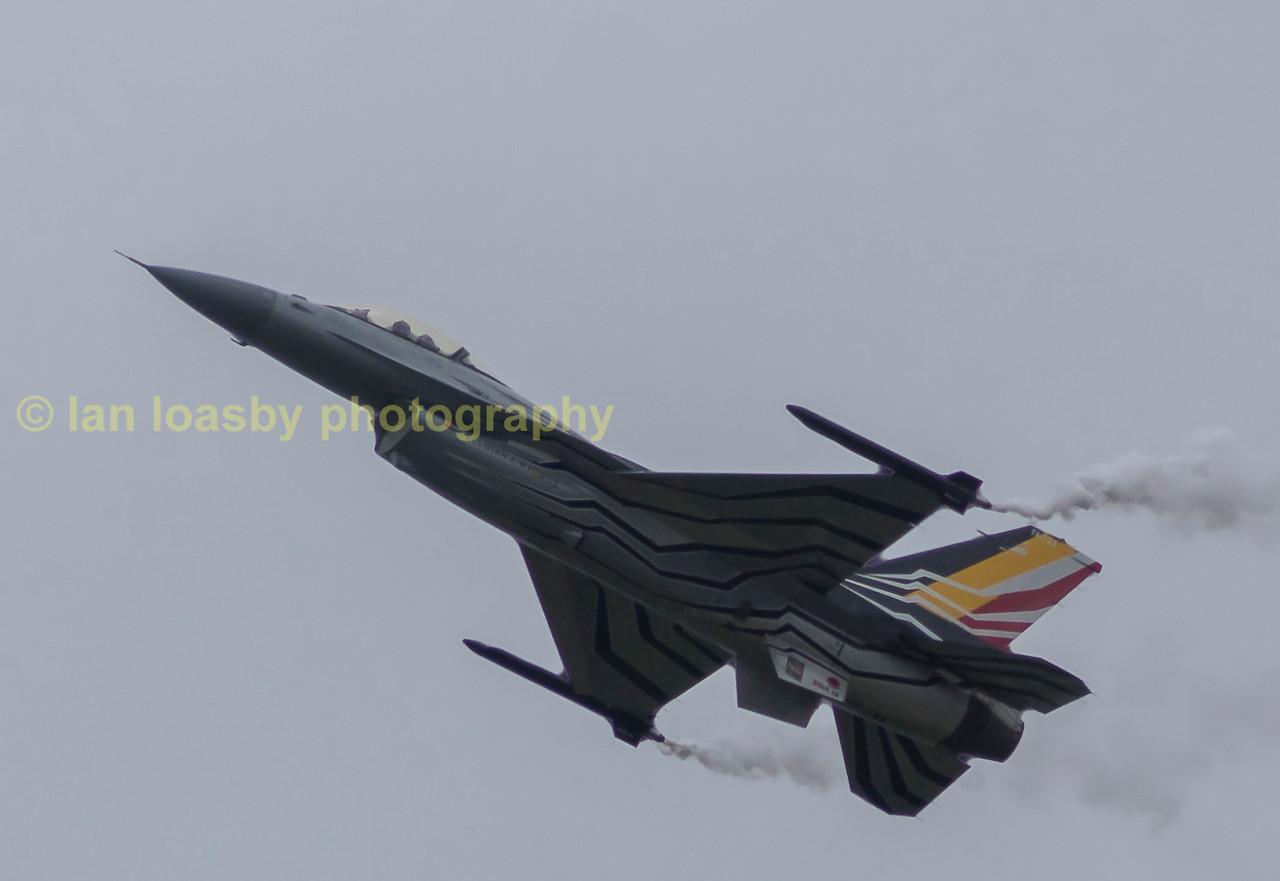 Belgian Air Force f16-a