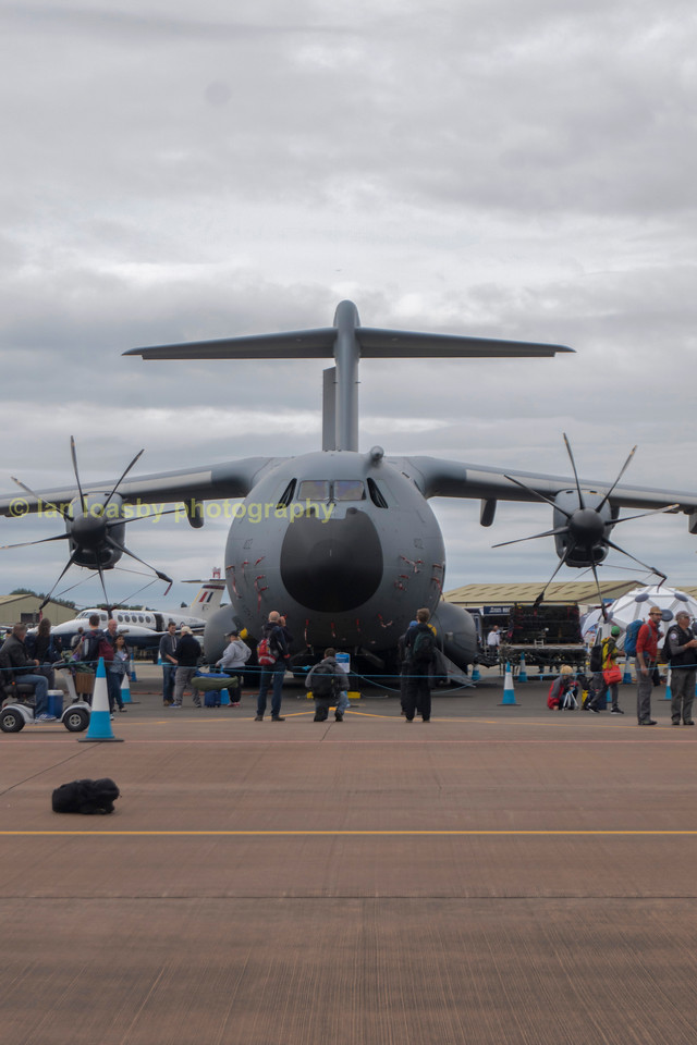 An RAF example on static display