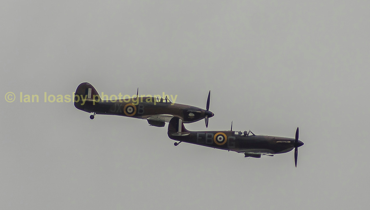 The Battle of Britain Memorial Flight (BBMF) is a Royal Air Force flight which provides an aerial display group comprising an Avro Lancaster, a Supermarine Spitfire and a Hawker Hurricane. The aircraft are regularly seen at events commemorating the Second World War and on British State occasions, notably Trooping the Colour which celebrates Queen Elizabeth II's 80th birthday in 2006, as well as the wedding of Prince William, Duke of Cambridge and Catherine Middleton in 2011 and at air displays throughout the United Kingdom and Europe.  The flight is administratively part of No. 1 Group RAF, flying out of RAF Coningsby in Lincolnshire.