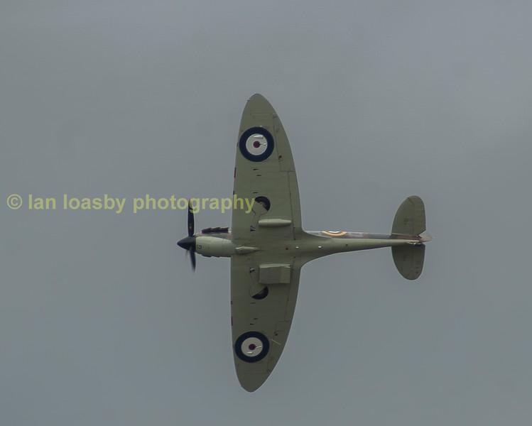 A classic shot of a Supermarine Spitfire