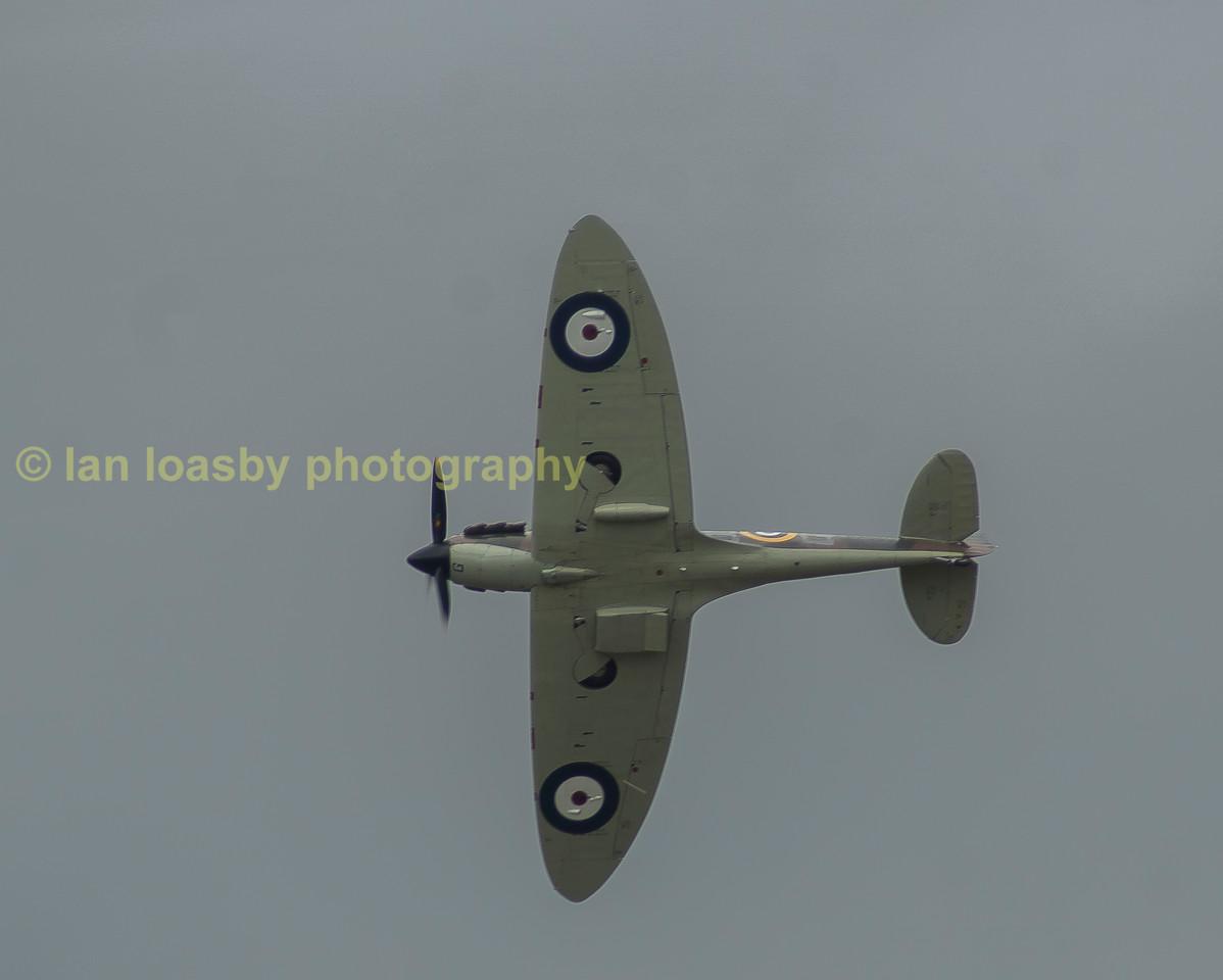 A classic shot of a Supermarine Spitfire