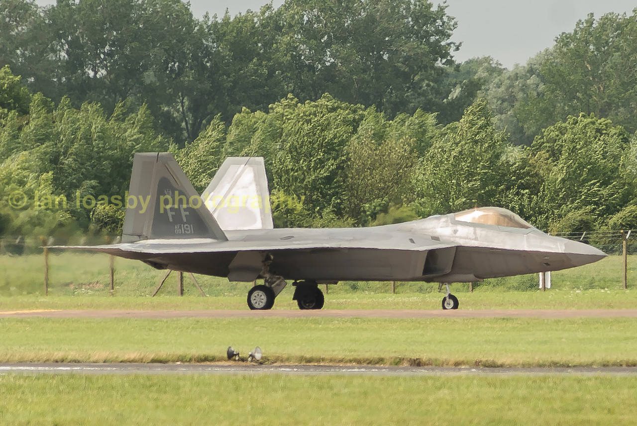 The Raptor from 1st Fighter Wing US Air Force Langley AFB