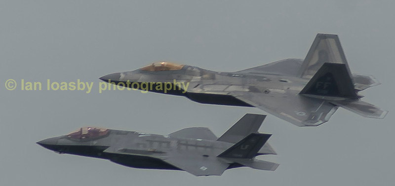 The F22 'Raptor & F35 'Lightning'