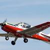 Derek Sharpes Scottish Aviation Bulldog  XX614 ( G-GGRR) departs