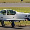 Affinity Flying Services a civilian service suppier to the MOD, Grob G120TP / PrefectTI G-MFTS  departs on manday from Fairford