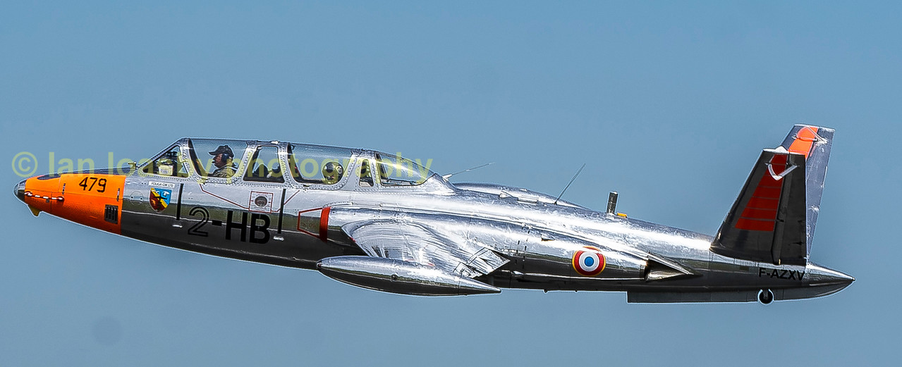 Ex 479/ 2HB , Fouga CM170 Magister now F-AZXV departs on monday