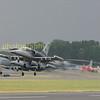 Czech airforce Aero l-159's departng on monday morning