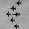 Ok 6 Thunderbirds here where or more to the point what are the other two up to