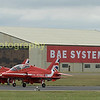 Red arrows depart RAF Fairford to display over Silverstone at the start of the British Grand Prix, they returned to RIAT to perform for us latter