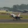 Thunderbird 2  lands after his display