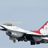 Thunderbird 4 flown by  Maj Nick Krajicek a former black hawk pilot, bet he finds this different!