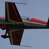 ARIAT and airshow favorite , the Royal Jordanian Falcon ,  a civillian team flown by Jordanian airforce pilots, displaying the  Extra EA300L