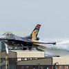 Turkish Airforce F-16 solo turk