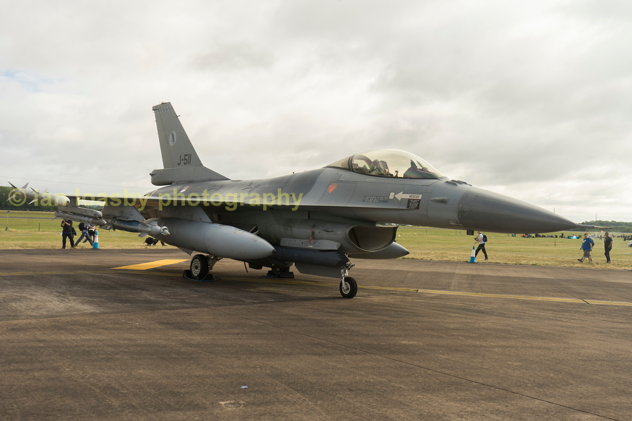 Royal Netherlands Airforce F-16 AM Fighting Falcon   L511