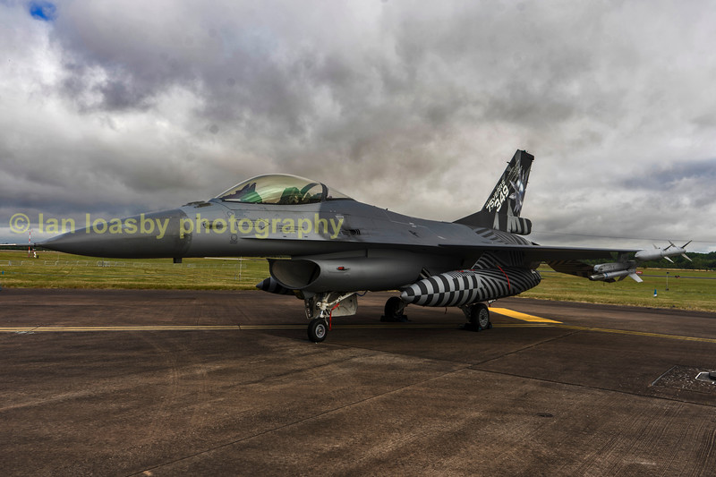 Belgian Airforce Fi6AM Fighting Falcon  FA70 of 349 sqn