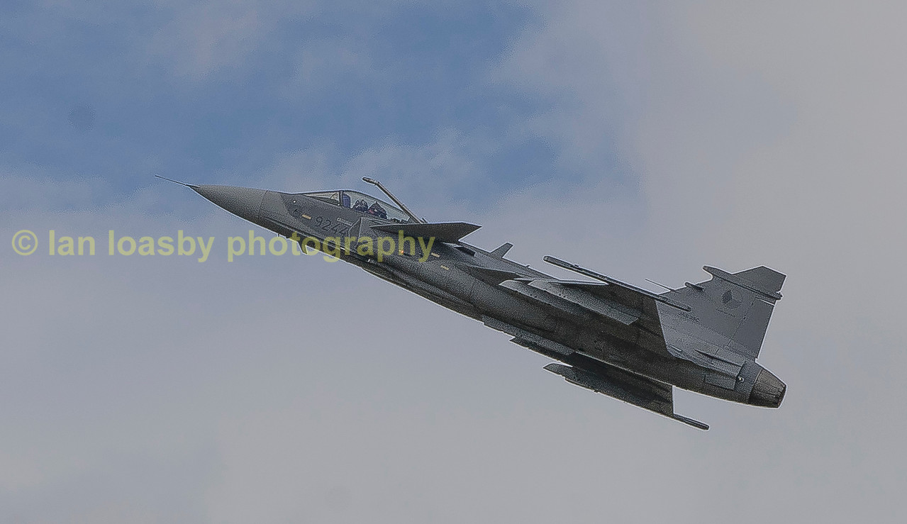 Czech airforce Saab JAS 39C Gripen    9244