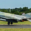 MD F-4 E Phantom 01508 of the Hellenic Airforce departs RIAT