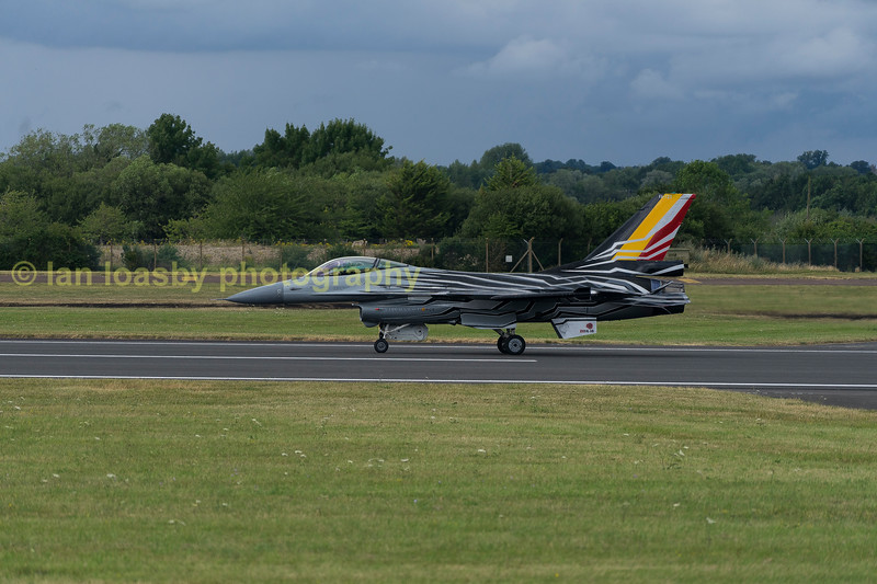 Belgian Airforce GD-F-16AM Fighting Falcon FA123   from 10 wing,  350 Sqn