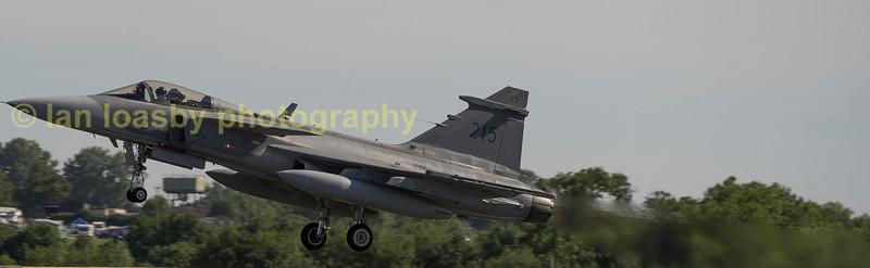 Saab Gripen 39c 39215 / 215 of the Swedish airforce