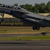 Swedish Gripen JAS 39D  39827 / 827 depart RIAT 2017