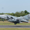 Luftwaffe Tornado ECR 45+54 departs RIAT2017 having been a static  exhibit