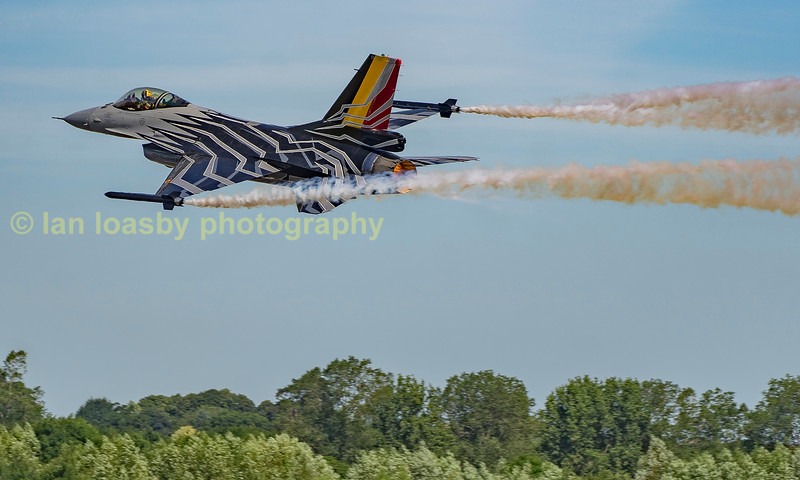 Belgian Airforce F-16  from 10 Wing, 350 Sqn