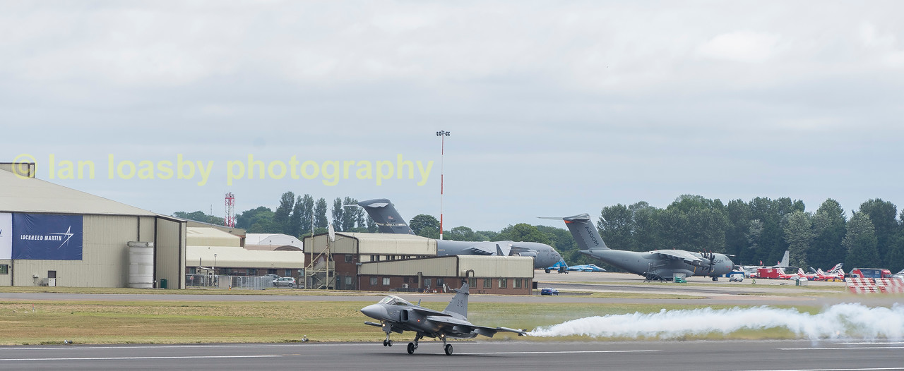 Swedish Airforce Saab Gripen JAS 39C