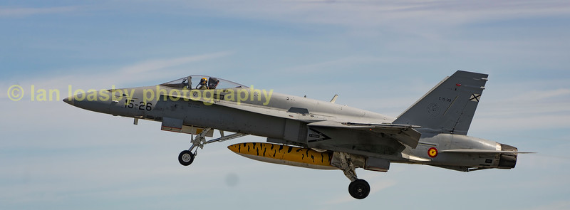 Spanish Airforce MD EF-18M Hornet  C155-39 / 15-26