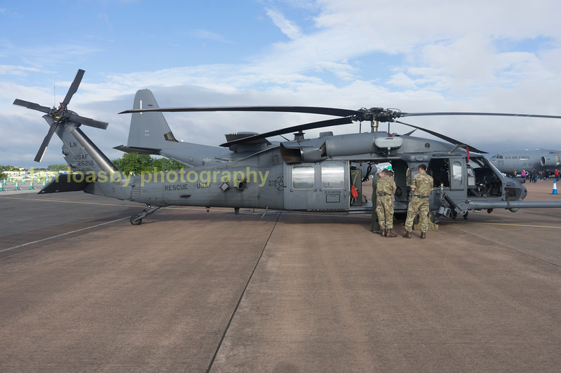 USAF Sikorsky HH-60-G Pave Hawk 89-26212 / LN resue helicopter from the 48th fighter wing