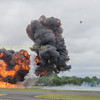 This is what happens if you mess with an Apache when the pilot is late for his Naafi break!!