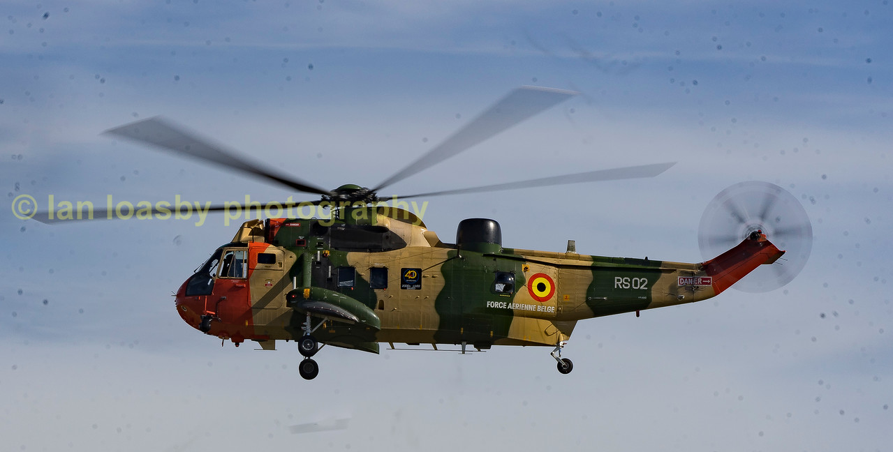 Sea King RS - 01 of the Begian Airforce search and rescue service