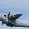 Airbus A400 'ATLAS' ZM406 departs RIAT 2017