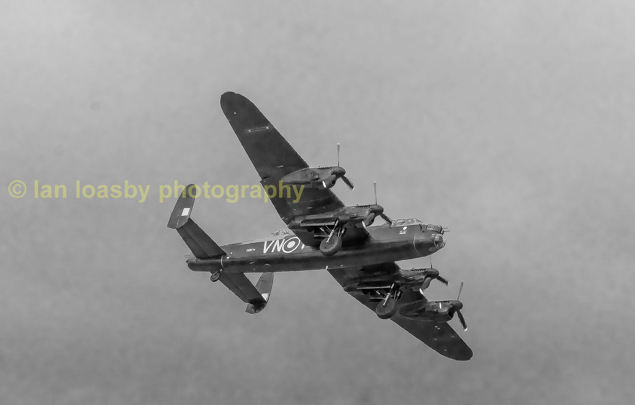 Lancaster fly past