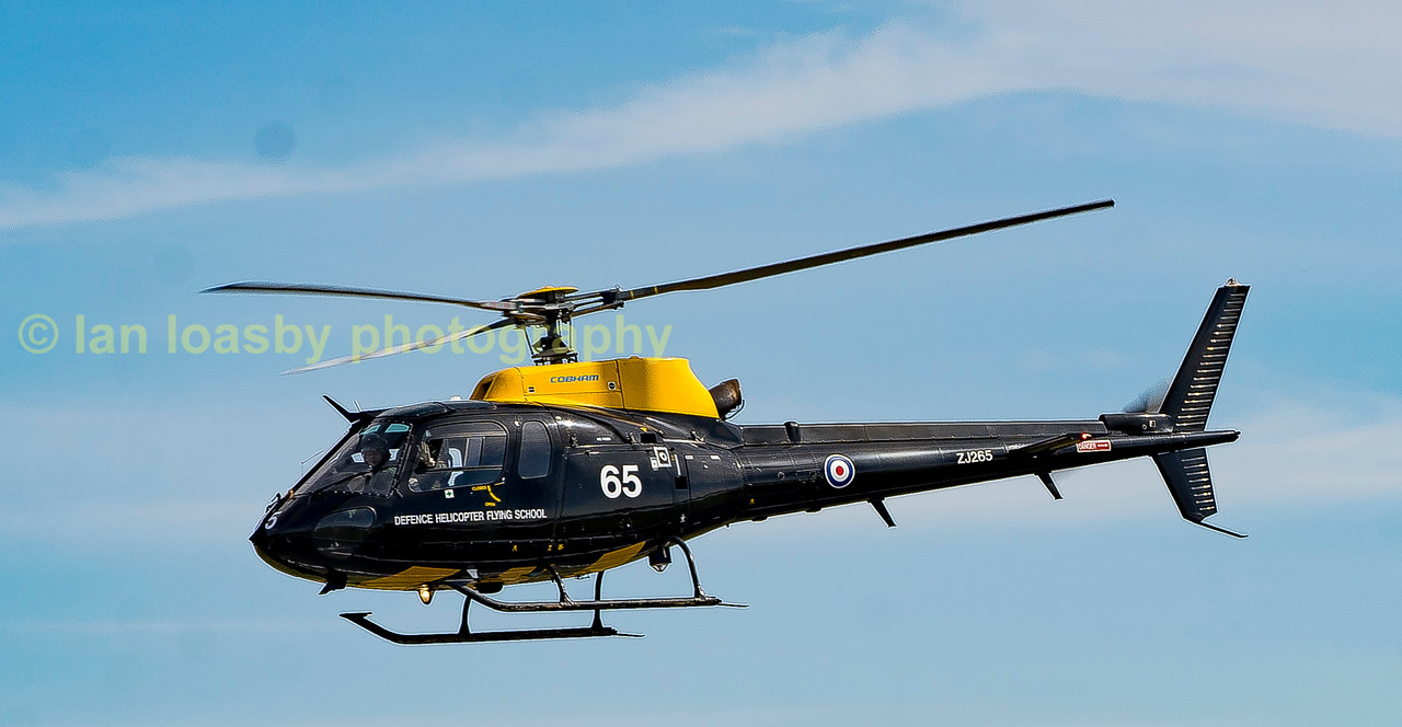 Departing from RIAT is the central flying school Squirrel Z1265