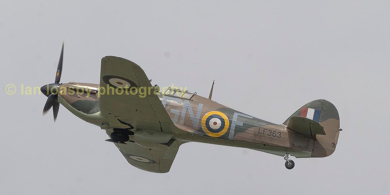 The Battle of britain memorial Flight's Hawker Hurricane 11b, LF363 / SD-A