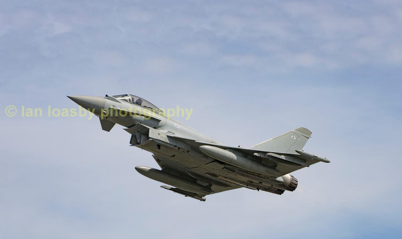 Typhoon  FGR4 of 1(F) Sqn