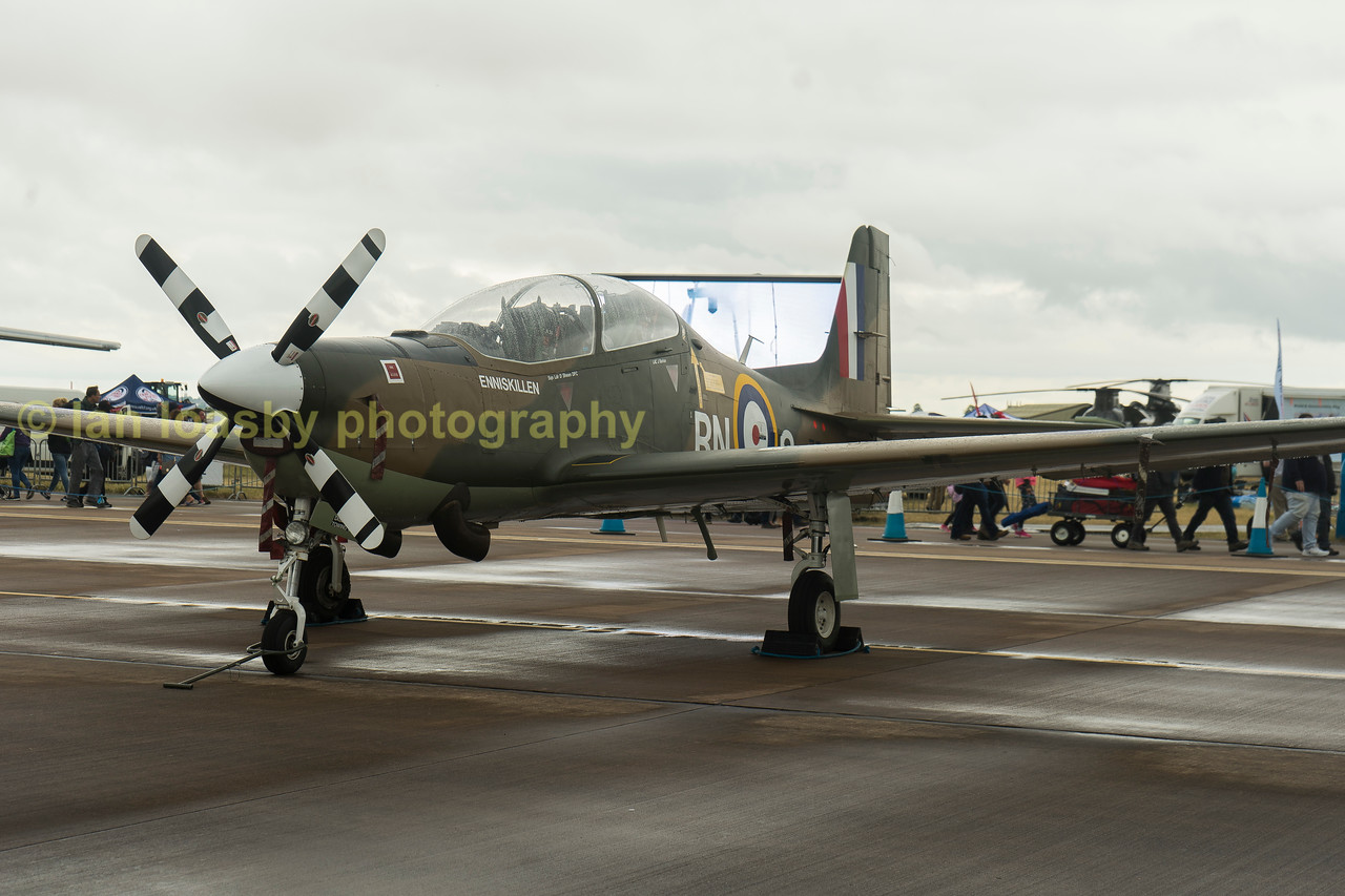 Spitfire liveried  Shorts Tucano TI ZF378   from 1FTS / 72 (V) Sqn.