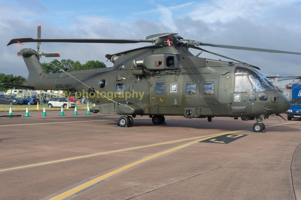ZJ136 Is a AugustaWestland Merlin HC3 from 846 Naval Air Sqn RNAS Yeovalton