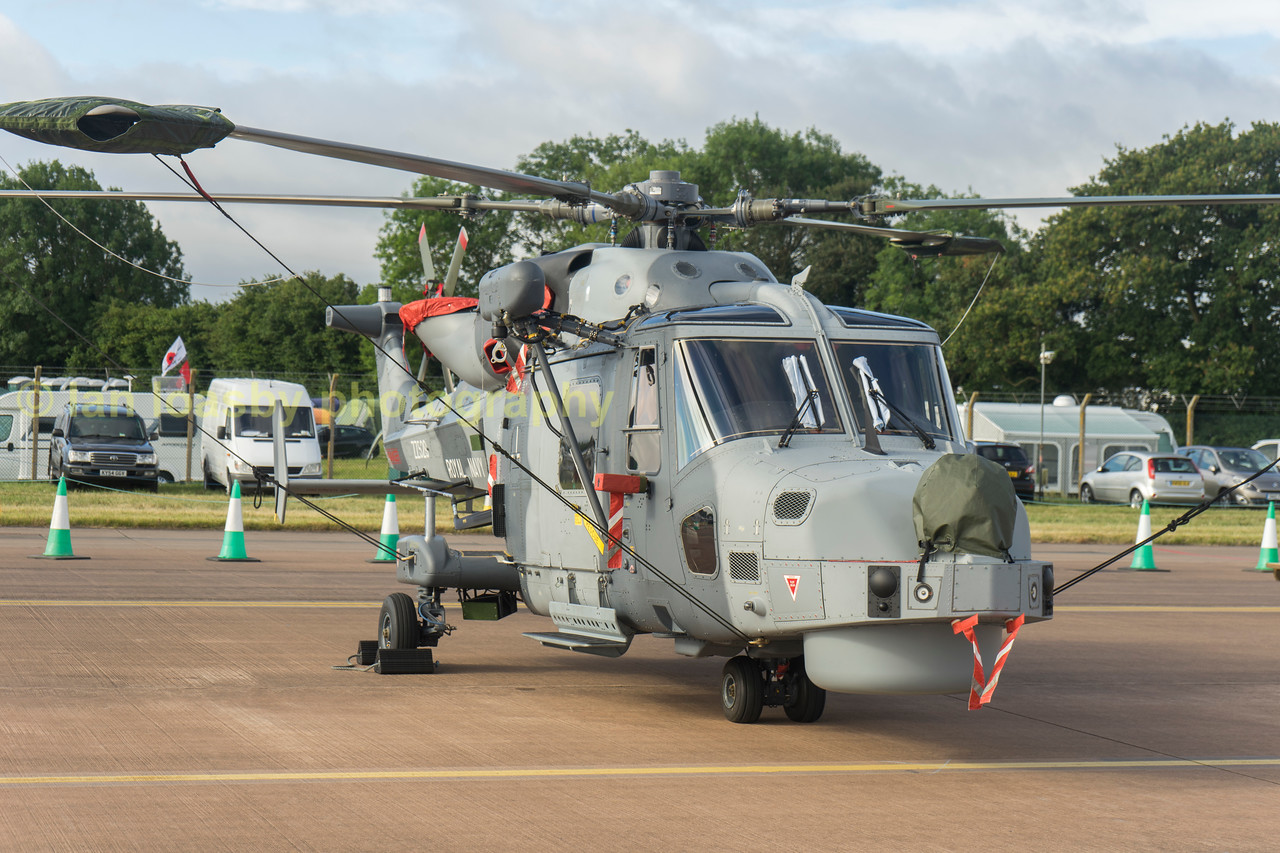 ZZ529 is an AugustaWestland Wildcat HMA2 from 815 Naval Air Sqn , RNAS Yeovilton