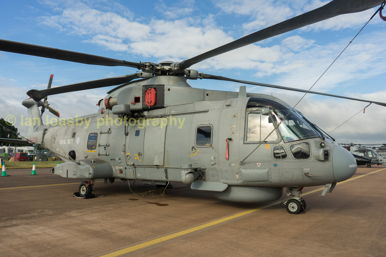 ZH854 is a Merlin HM2from 820 Naval Air Sqn
